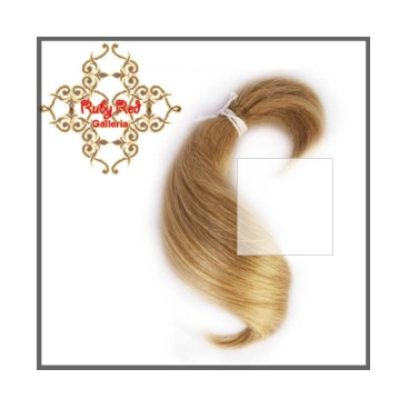 RUBY RED ASH BLONDE CURVE MOHAIR
