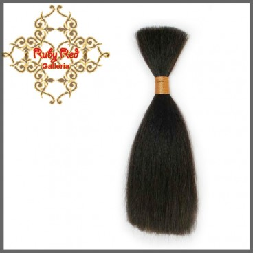 RUBY RED MOHAIR DARK BROWN  STRAIGHT