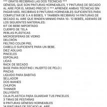 CURSO REBORN A DISTANCIA ( INCLUYE TECNICA HORNEABLE Y TECNICA DE SECADO AL AIRE POR EL MISMO PRECIO )